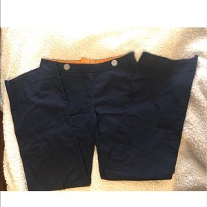 Navy Tory Burch Dress Pants